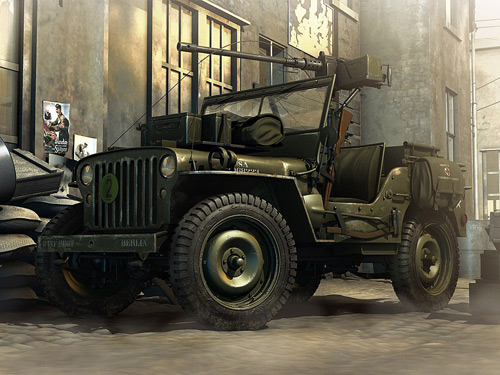 world war 2 Jeep by Rasyid Ridha