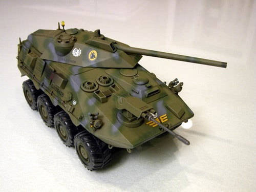Tank built in 3D Studio Max 5 by Ben Creager