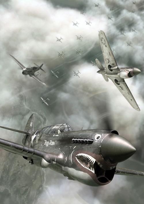 aeroplane in maya, final render, combustion, photoshop by Rodrigo Lloret