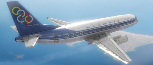 Aeroplane - hybrid Airbus320 / Boeing737 by Gregg T.Rex Glezakos