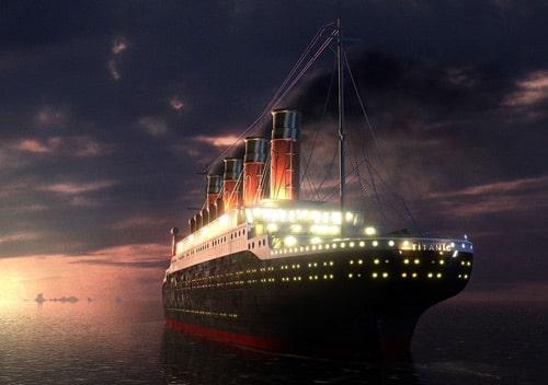 titanic by Radoslav Zilinsky
