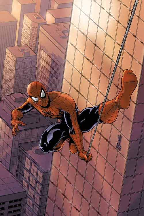 Spidey Swingin by UdonCrew