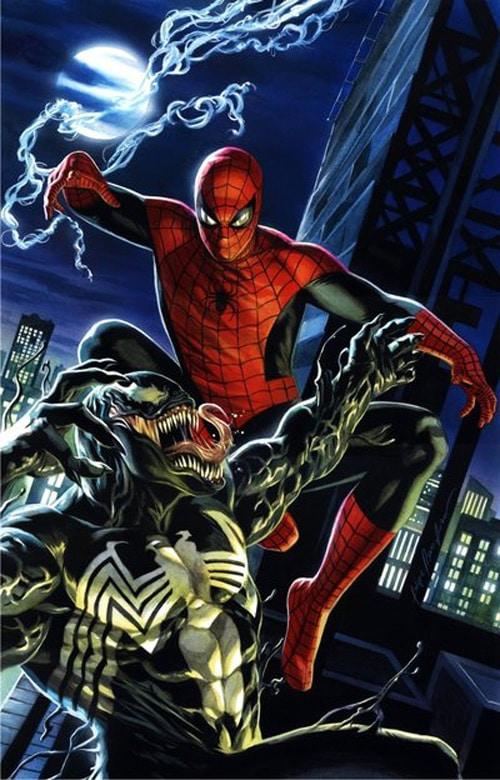 Spidey vs Venom by felipemassafera