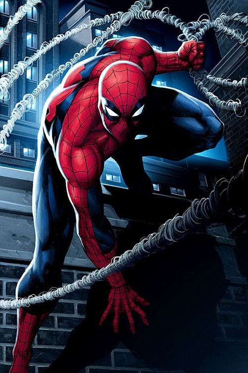 Spiderman, Jeremy Roberts (2D)