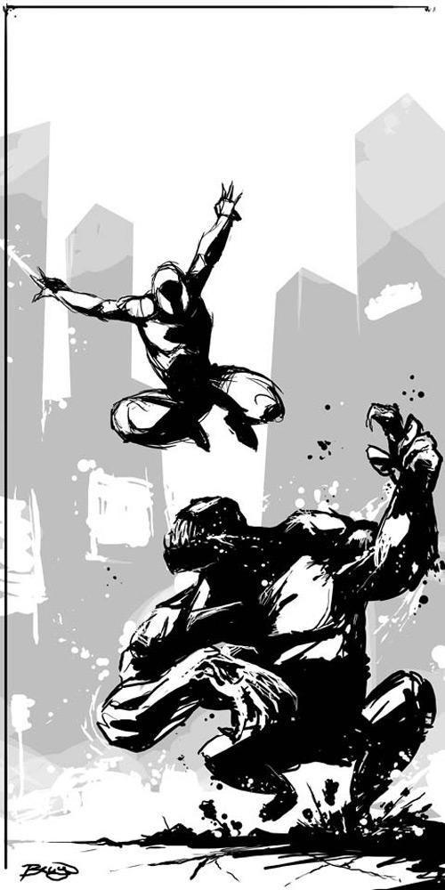Amazing (Spiderman v Venom), Craig Bruyn (2D)