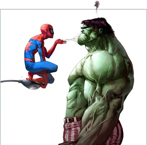 poking the Hulk, Christian Nauck (2D)
