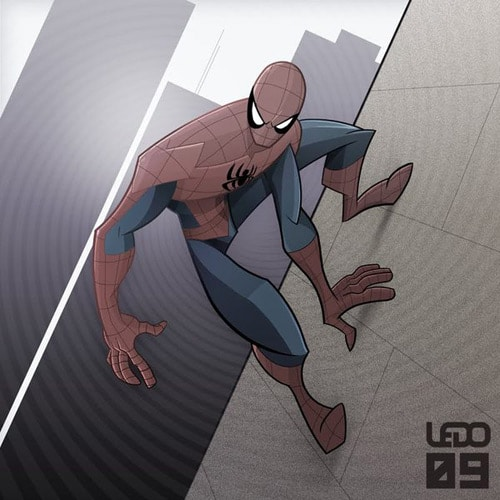 Spider-Man by Schiani Ledo