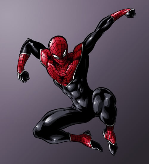 Here comes the Spider-Man by *turin-the-forsaken