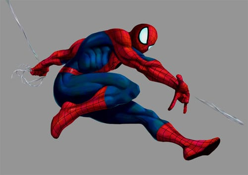 Marvel VS Capcom 2: Spider-Man by #UdonCrew