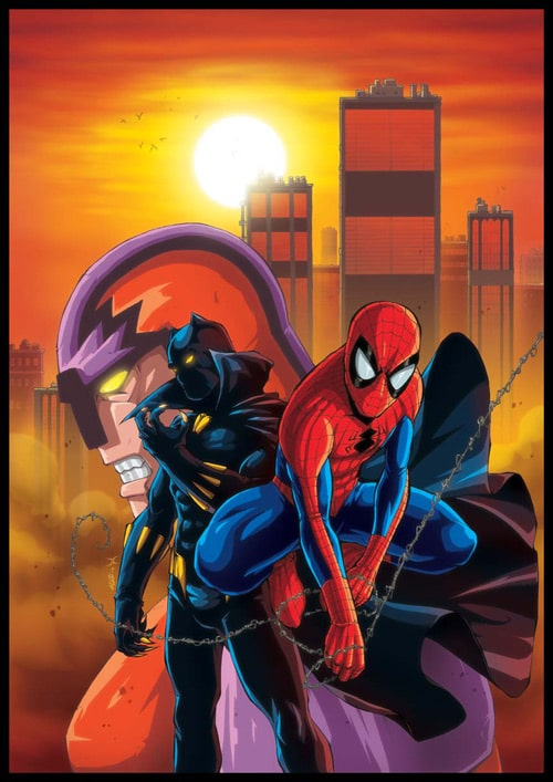 specspidey uk 156 cover by ~deemonproductions