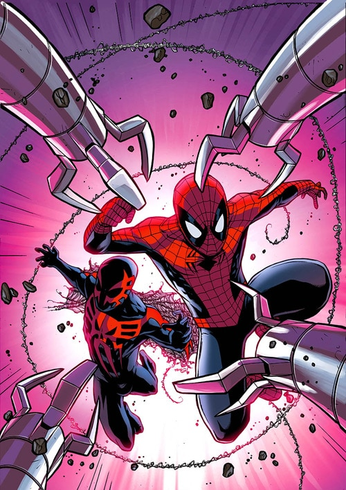 Spectacular Spider-Man cover10 by *JPRart