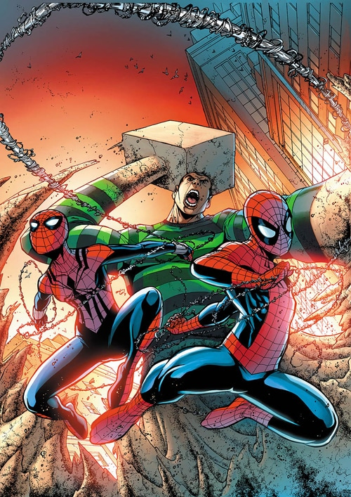 Spectacular Spider-Man cover11 by *JPRart