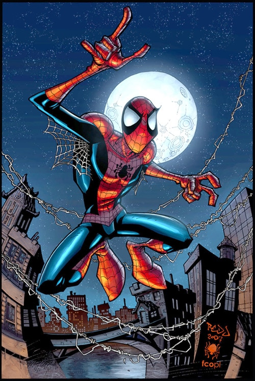 SPIDER-MAN :: FCO colours by *Red-J