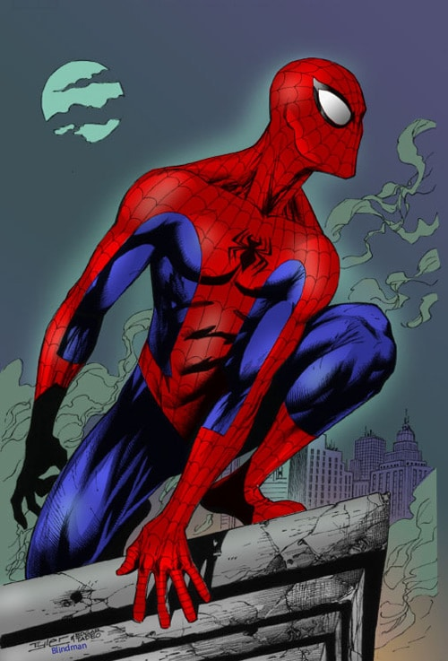 Spider-Man by Ed Tadeo by ~Blindman-CB