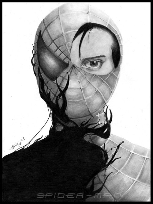 Spider-man by =Silent--Echo