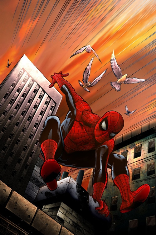 Spider-Man Colors by ~EdRyder