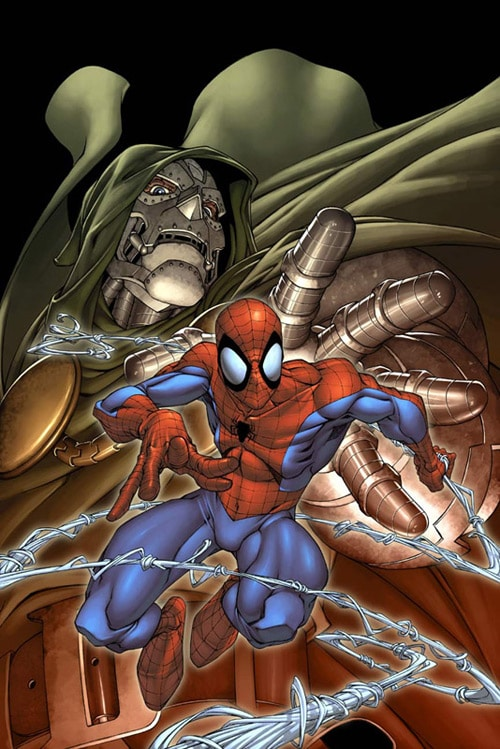 Spider-man doom cover by `diablo2003