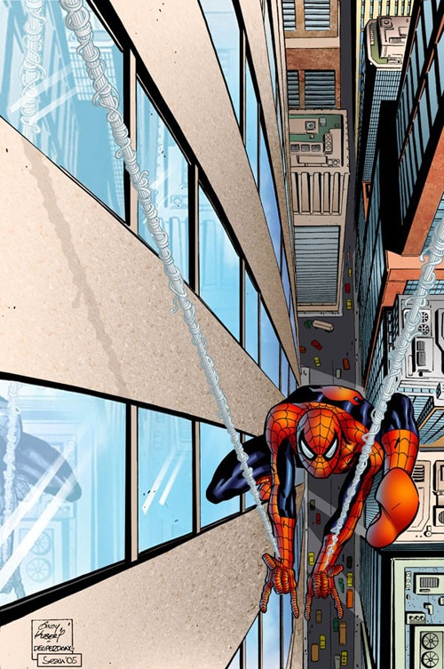 Spiderman, Sean Ellery (2D)