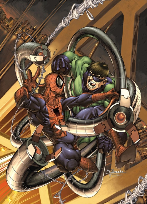 Spider-man number 2 cover by `diablo2003