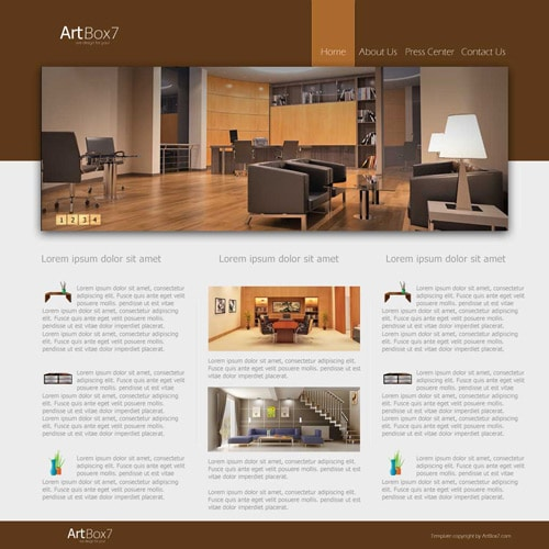Learn how to create a stylish/elegant web layout in Photoshop
