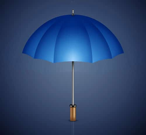 Draw a 3D Umbrella with Photoshop