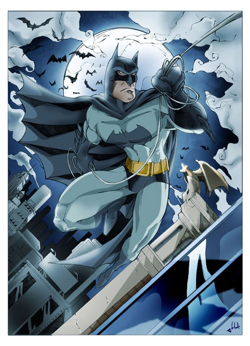 BATMAN by jotade22