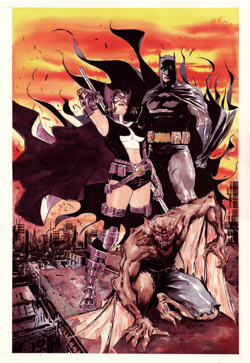 Batman Streets of Gotham 5 by duss005