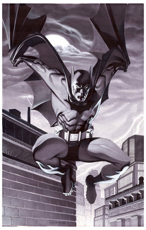 Batman- Marker Illo by chriss2d