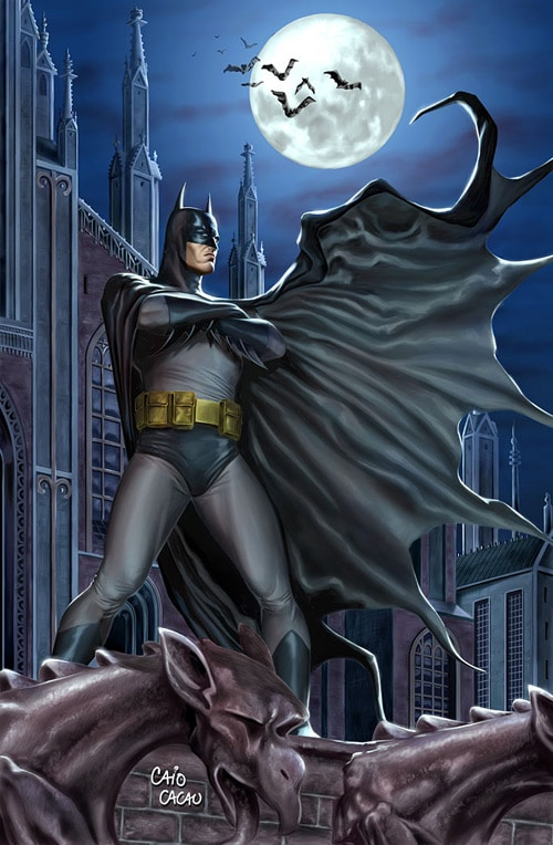 Batman by caiocacau