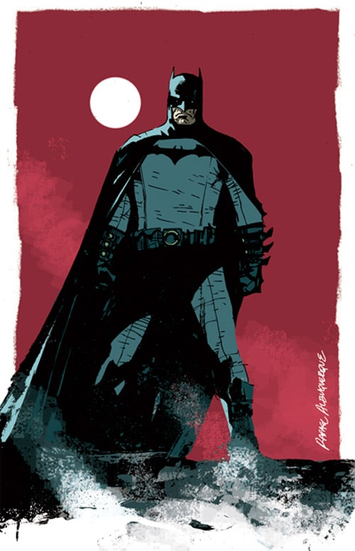 Batman by rafaelalbuquerqueart