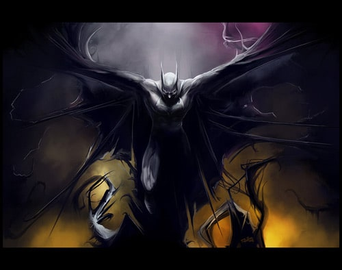 Batman by wildlifehoodoo