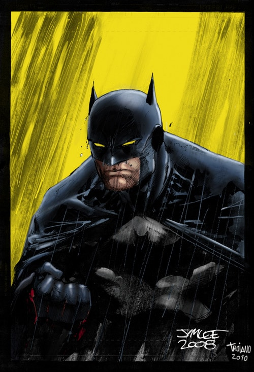 Batman_in Rain. by Troianocomics