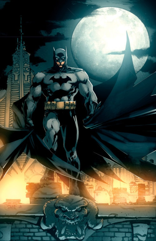 Jim Lee Batman by dcjosh