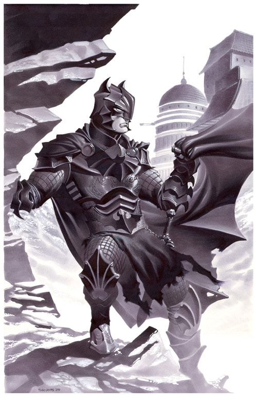 Medieval Fantasy Batman by chriss2d