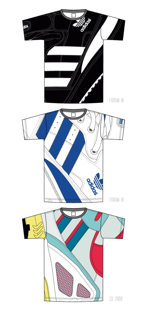 adidas originals t-shirt collection fw08