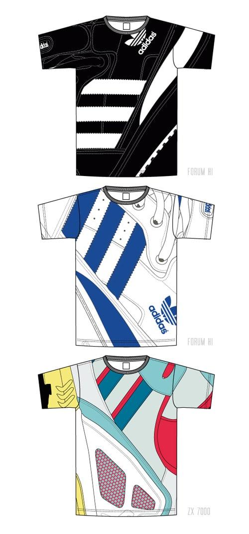 adidas originals t-shirt collection fw08