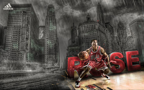 derrick rose wallpaper. Adidas: Derrick Rose