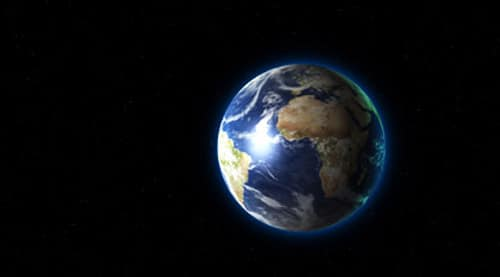 The Blue Planet in 3D - Add 3D control to earth inside After Effects