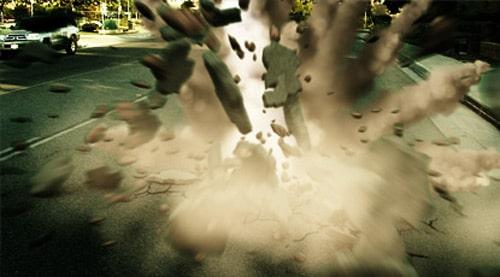 Meteor Crash AE p2 - Composite 3D Debris and create meteor smoke trail