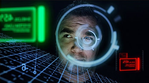 Futuristic HUD - Create 3D interface display as seen in Iron Man's helmet