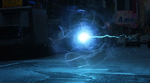 3D Light Casting - Create an energy-ball that re-lights the road surface