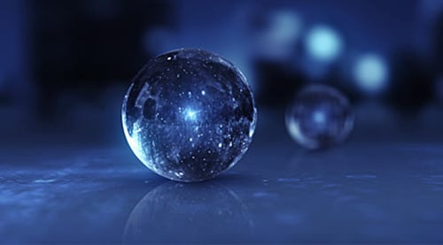 Glass Orbs - Use After Effects to create shiny glass orbs in 3D