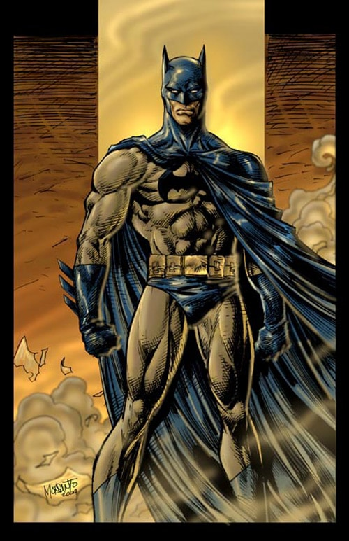 batman by gammaknight