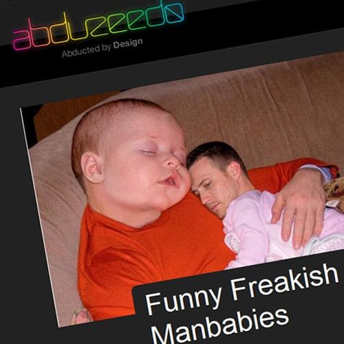 Funny Freakish Manbabies