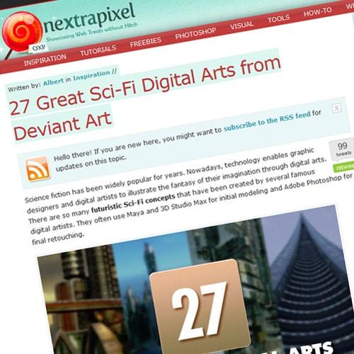 27 Great Sci-Fi Digital Arts from Deviant Art
