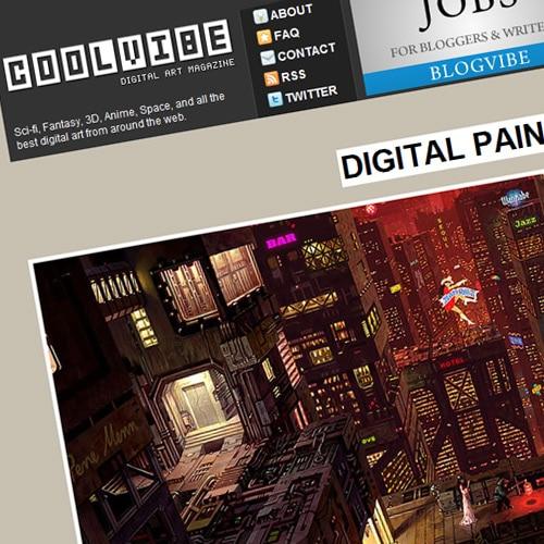 Digital Paintings of Pene Menn