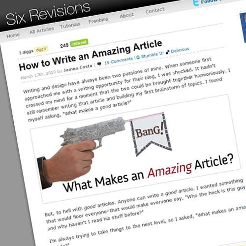 How to Write an Amazing Article