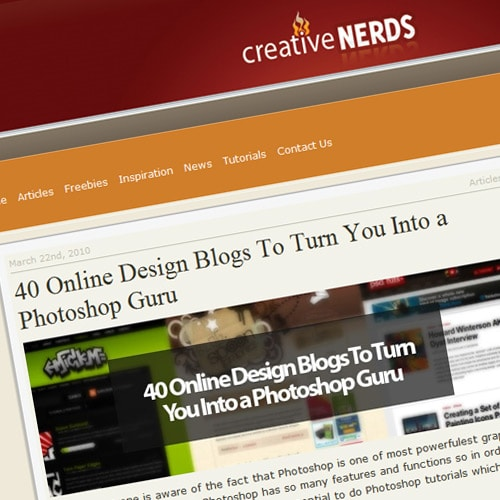 40 Online Design Blogs To Turn You Into a Photoshop Guru