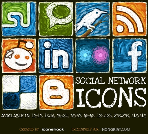 Freebie Release: Social Network Icon Set