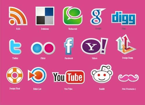 Icons   pinkmoustache.net   vector stories - Part 2